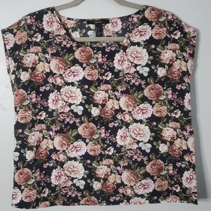Forever 21 | Small | Floral Sleeveless Blouse